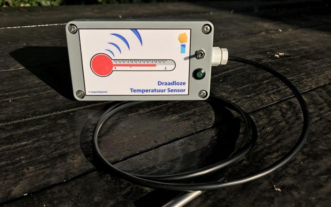 Proto type Ibeacon temperatuurmeter